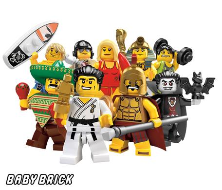 Лего Сити 8684 - Минифигурки 2 серия lego - купить конструктор GB43