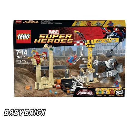 Лего Супер Герои 76037 - Носорог и Песочный человек против ...