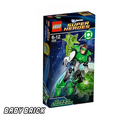 Зеленый фонарь green lantern lego 4528 фото 1