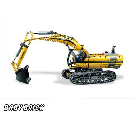С мотором конструктор лего technic lego