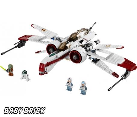 Лего star wars arc 170 starfighter lego 8088