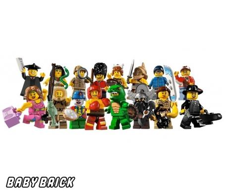 Лего 8805 - Минифигурки 5 серия lego - купить конструктор ZA93