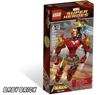 Железный человек iron man lego 4529 фото 1