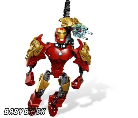 Железный человек iron man lego 4529