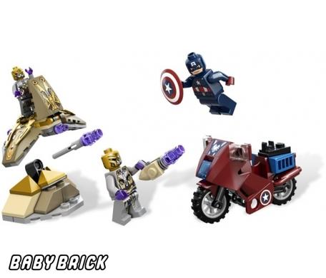 6865 lego мотоцикл капитана америка captain