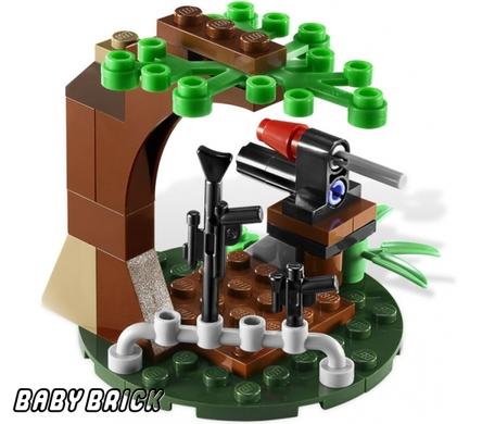 Lego 9489 эндорские повстанцы против
