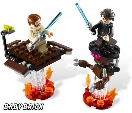Лего как сделать джедая