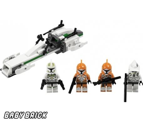 """Конструктор LEGO-STAR WARS """"Боевой отряд штурмовиков-клонов&quot."""