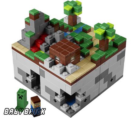 Конструктора lego 21102 шахта minecraft