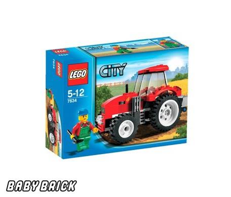 Лего 7634   Трактор купить - alfabrick.ru