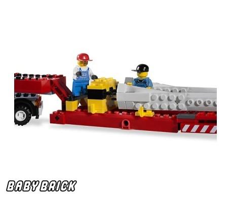 Лего Сити 7747 - Перевозчик ветротурбины LEGO - купить конструктор