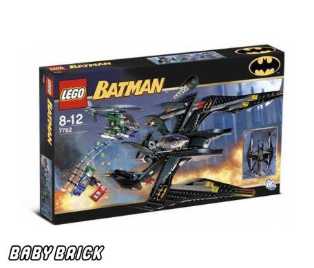 Налет джокера конструктор лего batman