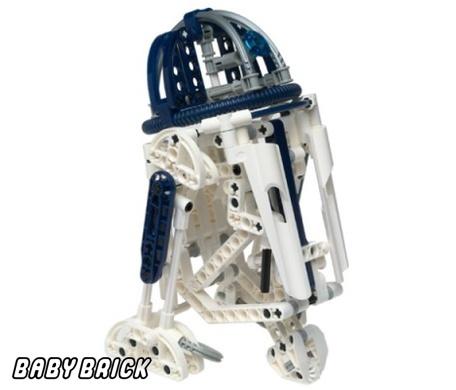 R2 d2 конструктор лего star wars lego 8009