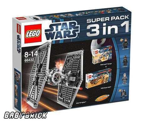В 1 серии лего звездные войны lego 66432