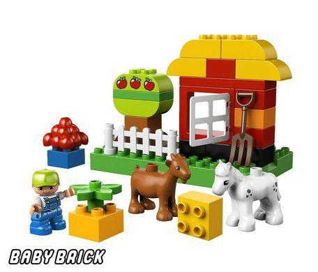 Конструктора мой первый сад lego 10517