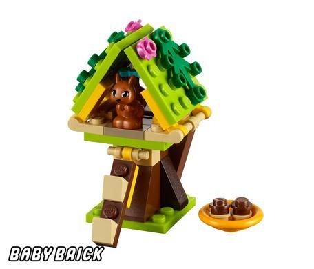Лего Френдс 41017 - Домик Белки LEGO - купить конструктор