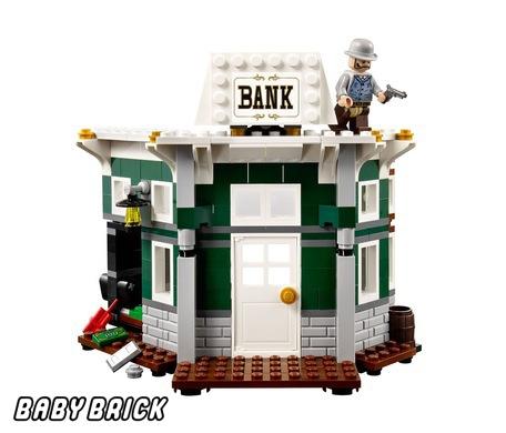 Как из лего сделать банк