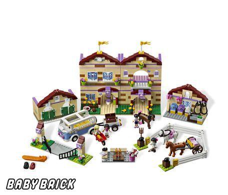 Лего школа верховой езды купить