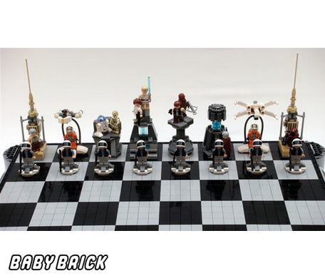 Шахматы конструктор лего star wars lego