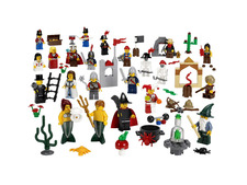 ��������� � ������������ ��������� - Fairytale and Historic Minifigure Set - Lego 9349