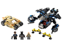 ������ ������ ����� - Chase with Tumbler (Lego 76001)